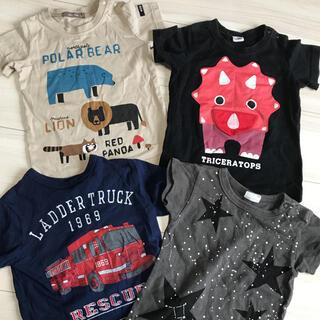 BREEZE - 男の子 ブランド Tシャツ 4点セット 95