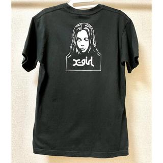 X-girl - 【大人気】X-girl エックスガール FACE Tシャツ【美品】
