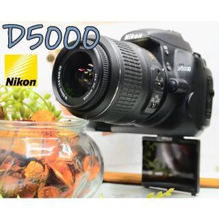 Nikon - ✨コンパクトな一眼レフ✨手ぶれ補正+自撮り+スマホ転送✨ニコン D5000