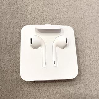 アイフォーン(iPhone)の【新品未使用】Apple  純正 イヤフォン iPhone8 (ヘッドフォン/イヤフォン)