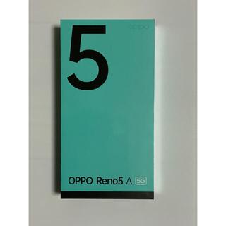 OPPO - 新品未開封品 Oppo Reno 5A 5G YM版 SIMフリー