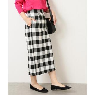 Spick and Span - Spick&Span チェックタイトスカート
