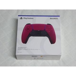 PS5 DualSense コントローラー コズミック レッド(その他)