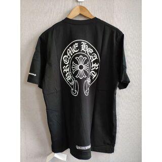 Tシャツ クロムハーツ ホースシュー 半袖 ブラック