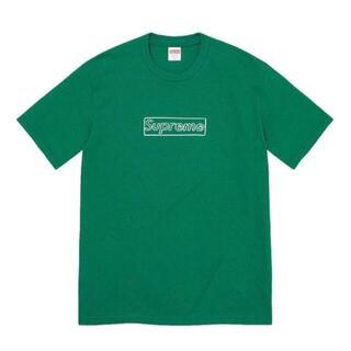 Supreme - supreme kaws  chalk logo tee box pine