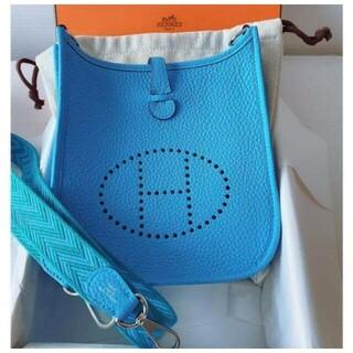 Hermes - エルメス ミニエブリン16TPMブルー青バンドリエール