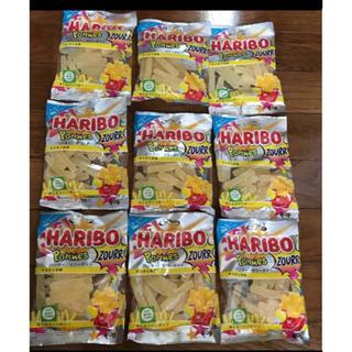 ハリボーサワーポテトレモン味9袋(菓子/デザート)