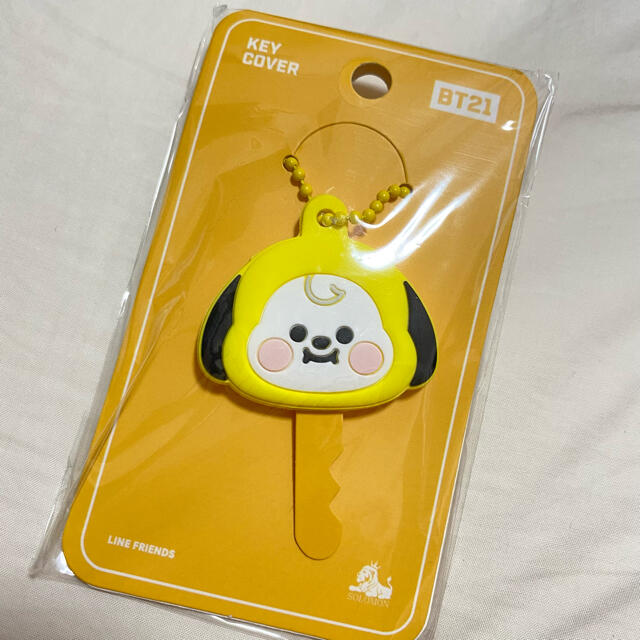 防弾少年団(BTS)(ボウダンショウネンダン)の新品 BT21 キーカバー チミー エンタメ/ホビーのCD(K-POP/アジア)の商品写真