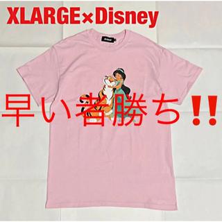 XLARGE - 【希少】XLARGE×Disney コラボTシャツ アラジン JASMINE