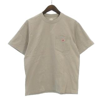 ダントン(DANTON)のダントン 21SS Tシャツ 半袖 丸首 21S-HS-001 ベージュ 38(Tシャツ/カットソー(半袖/袖なし))
