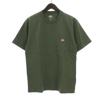 ダントン(DANTON)のダントン 20SS Tシャツ 半袖 20S-HS-001 緑系 カーキ 38(Tシャツ/カットソー(半袖/袖なし))