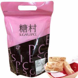 即納!台湾 糖村 法式牛軋糖 フレンチヌガー 400g(菓子/デザート)