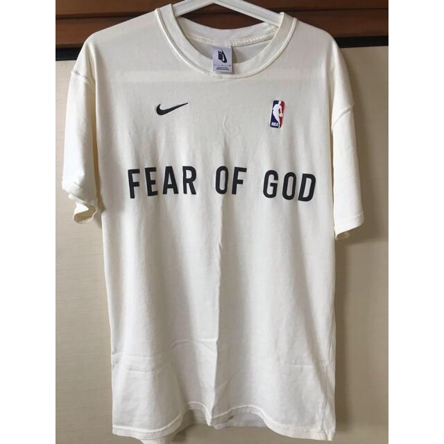FEAR OF GOD(フィアオブゴッド)のfear of god nike Mサイズ メンズのトップス(Tシャツ/カットソー(半袖/袖なし))の商品写真