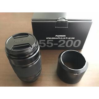 富士フイルム - FUJIFILM フジ XF55-200mm F3.5-4.8 望遠レンズ