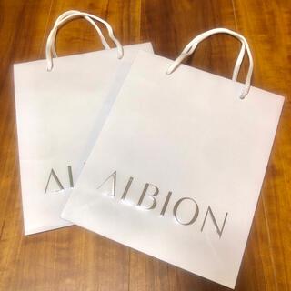 アルビオン(ALBION)のアルビオン ショッパー(ショップ袋)
