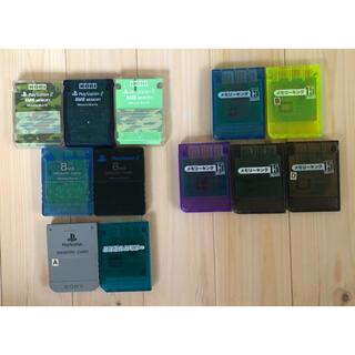 PS/PS2 メモリーカード MEMORY CARD メモリーキング11枚セット