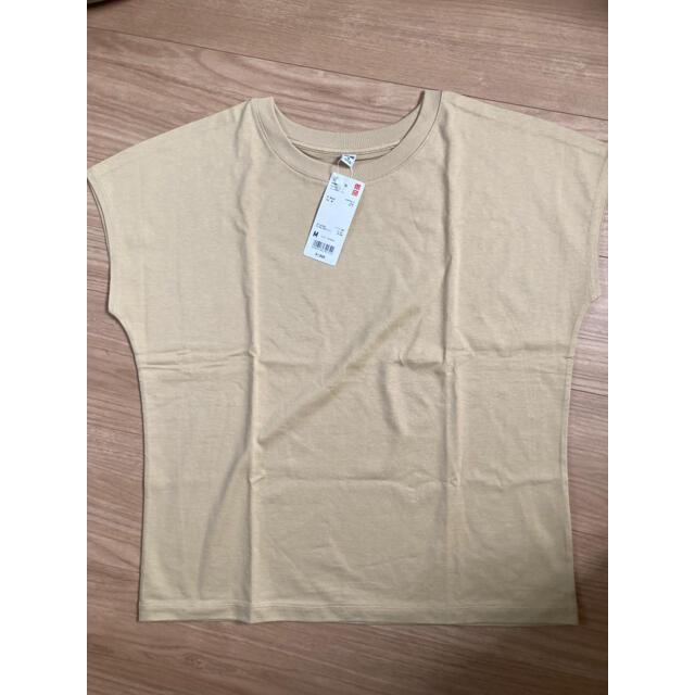 UNIQLO(ユニクロ)のユニクロ スムースコットンフレンチスリーブT レディースのトップス(Tシャツ(半袖/袖なし))の商品写真