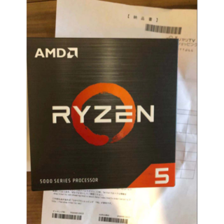 納品書あり 【新品未使用】AMD Ryzen 5 5600X