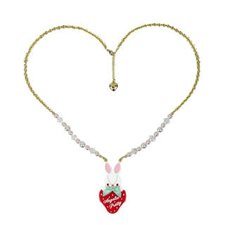 Angelic Pretty - Little Bunny Strawberryネックレス