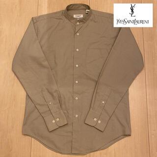 Saint Laurent - 【極美品】YEVS SAINT LAURENT ノーカラーシャツ M程度