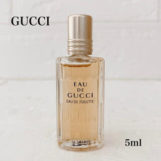 グッチ(Gucci)の満量 レア GUCCI  オードグッチ オードトワレ 5ml(香水(女性用))