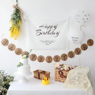 大人気!バースデー タペストリー 飾り付け 誕生日