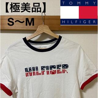 TOMMY HILFIGER - 【極美品】TOMMY HILFIGER ビッグロゴ S〜Mサイズ