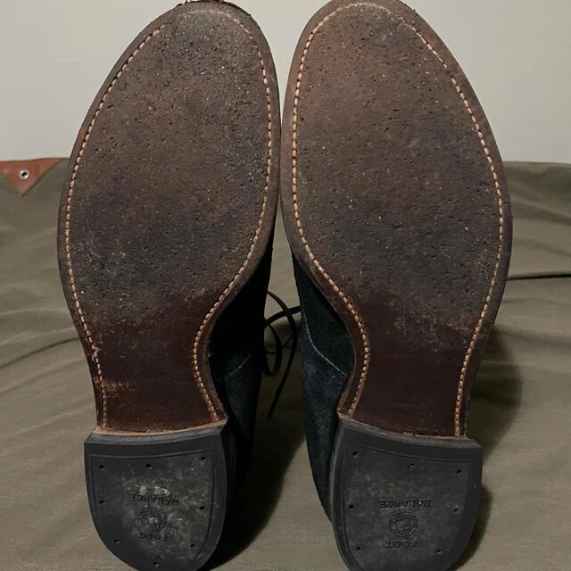 Alden(オールデン)のanatomica別注 ALDEN オールデン ネイビースウェード8 1/2D  メンズの靴/シューズ(ブーツ)の商品写真