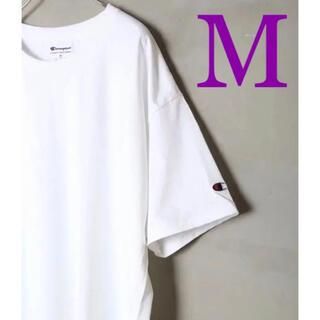 Champion - 【新品】×【大人気】M  ゆるだぼ チャンピオン tシャツ 白T ホワイト 王道