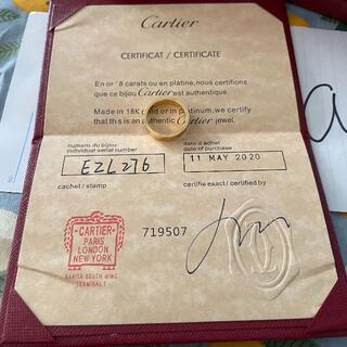 Cartier - カルティエラブリング イエローゴールド 14号