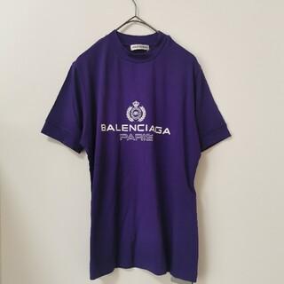 Balenciaga - 【大人気】新品未使用 バレンシアガ Paris Tシャツ Lサイズ レディース