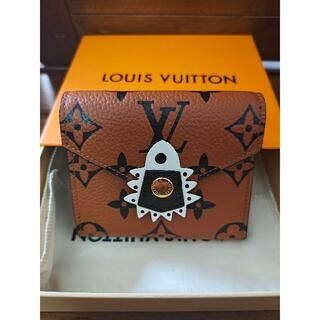 LOUIS VUITTON - ルイヴィトン クラフティ☆コンパクト財布 ポルトフォイユ ゾエ
