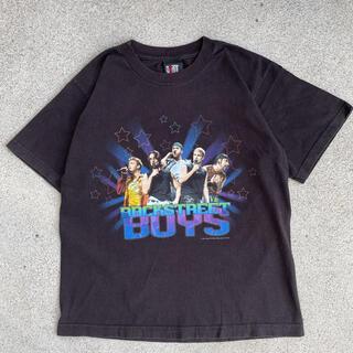 古着 Backstreet Boys バックストリートボーイズ tシャツ(Tシャツ/カットソー(半袖/袖なし))