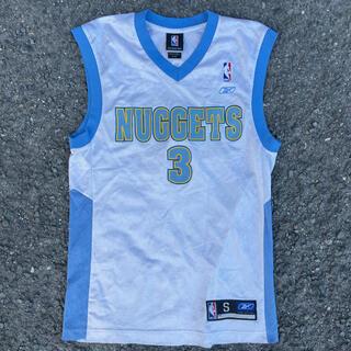リーボック(Reebok)の古着 NBA nuggets ナゲッツ アイバーソン ユニフォーム (バスケットボール)