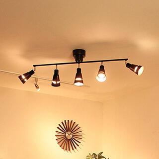 ラコルト LED電球5個・リモコン付 ボーベル シーリングライト 5灯(天井照明)