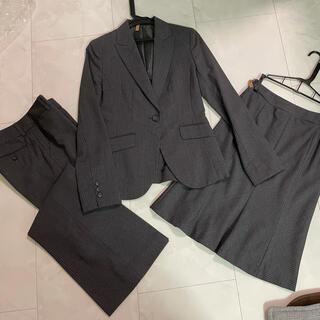 コムサデモード(COMME CA DU MODE)のコムサデモード スーツ ジャケット スカート パンツ 3点セット(スーツ)