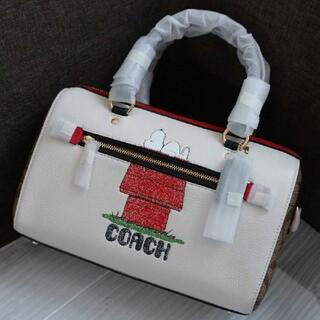 COACH - 新品 COACH スヌーピー コラボ バッグ