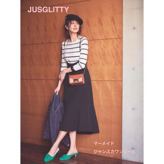 JUSGLITTY - 美品⭐︎ジャスグリッティー マーメイドジャンスカワンピース
