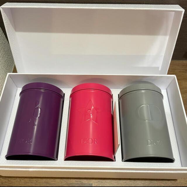 Dior(ディオール)のDior ディオール 新品未使用 バースデーギフト キャニスター缶 インテリア/住まい/日用品のインテリア小物(小物入れ)の商品写真