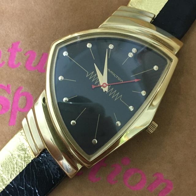 Hamilton(ハミルトン)の超貴重! ハミルトン ベンチュラ メンズ リミテッド キャデラック  未使用 メンズの時計(腕時計(アナログ))の商品写真