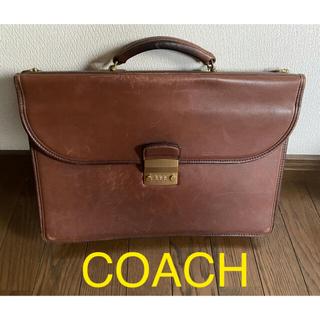 COACH - COACH コーチ 革製ビジネスバッグ
