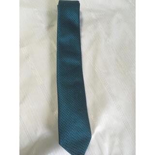 アルマーニ コレツィオーニ(ARMANI COLLEZIONI)の着用1回美品 アルマーニ ネクタイ グリーン系(ネクタイ)