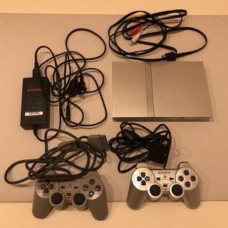 PlayStation2 - PlayStation2 薄型 シルバー
