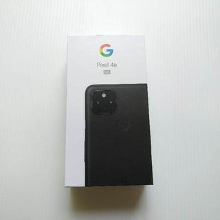 【新品】pixel 4a (5G) 128GB ブラック SIMフリー
