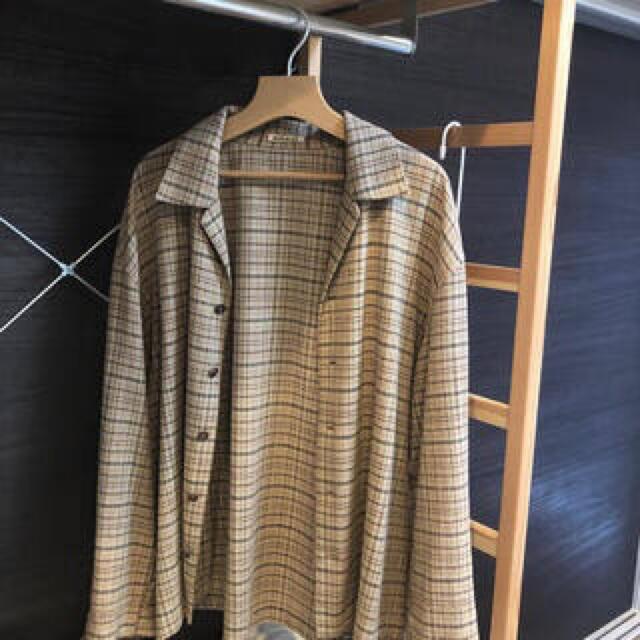 COMOLI(コモリ)のAURALEE SILK SUMMER TWEED BLOUSON メンズのジャケット/アウター(ブルゾン)の商品写真