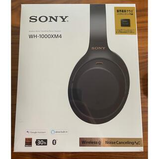 SONY - ワイヤレスヘッドホン WH-1000XM4 ブラック