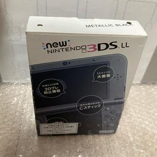 任天堂 - 【新品 未使用】NEW Nintendo3DSLL メタリックブラック 本体