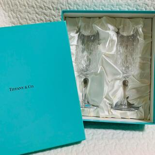 Tiffany & Co. - 新品未使用 ティファニー シャンパングラス ワイングラス
