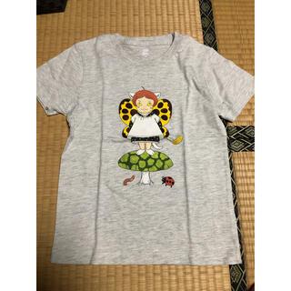 Design Tshirts Store graniph - グラニフ キッズ 半袖Tシャツ 石黒亜矢子 いもうとかいぎ