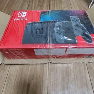 ニンテンドースイッチ(Nintendo Switch)の新型 Nintendo Switch 本体 グレー ニンテンドースイッチ 未開封(家庭用ゲーム機本体)